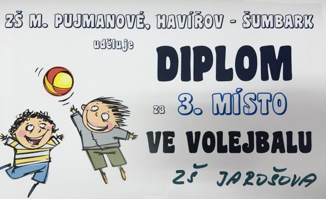 Diplom pro ZŠ Jarošova