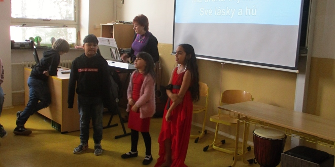 Vystoupení dětí družiny ZŠ Jarošova