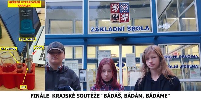 ZŠ Jarošova ve finále krajské soutěže
