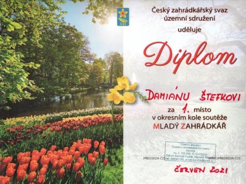 Okresní kolo soutěže Mladý zahrádkář 09
