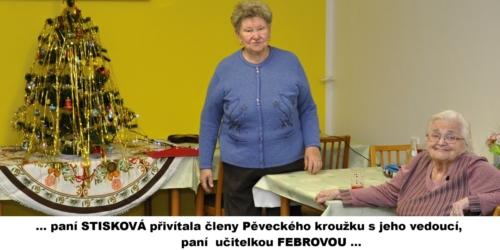 Pěvecký kroužek v Klubu seniorů na ul. Wolkerova f01
