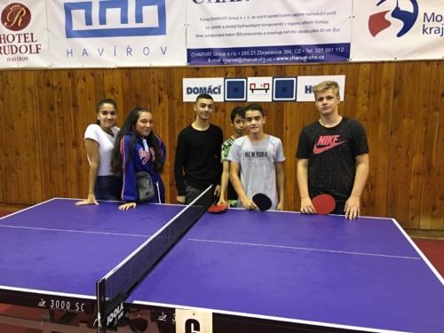 Turnaj družstev ve stolním tenise - 3. místo f01