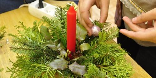 Vánoční aranžování f03