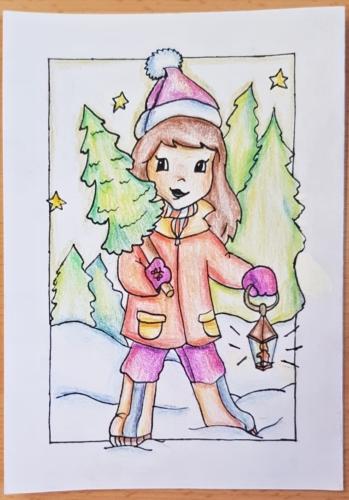 Výtvarná soutěž o nejkrásnější vánoční přáníčko 01