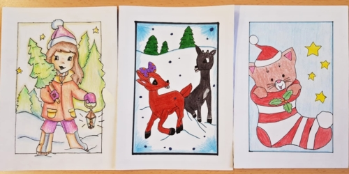Výtvarná soutěž o nejkrásnější vánoční přáníčko 02