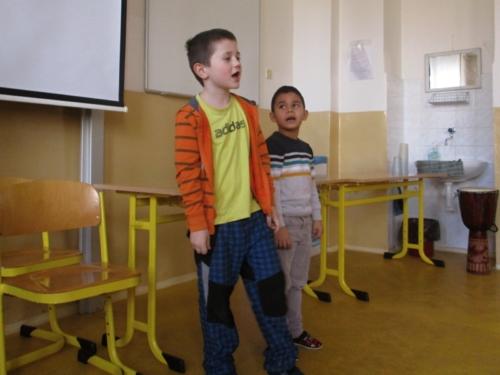 Vystoupení ve školní družině f01